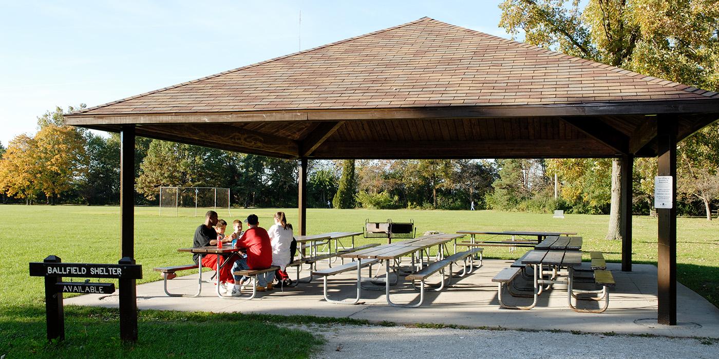 Ball Field Shelter Metroparks Toledo