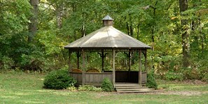 Gazebo on the Manor House Lawn