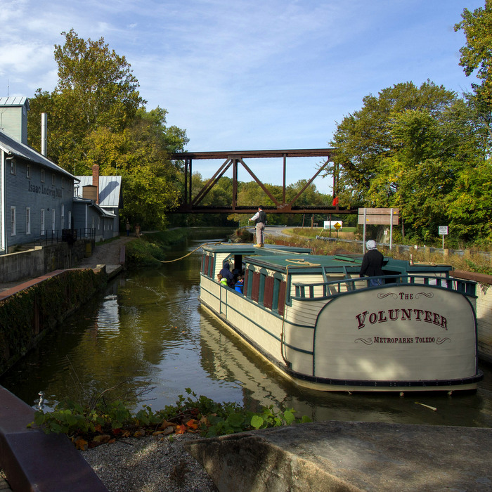 The Canal Experience at Providence Metropark.