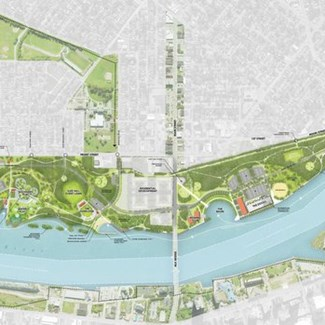 Plans Advance for New Metropark on Toledo Waterfront
