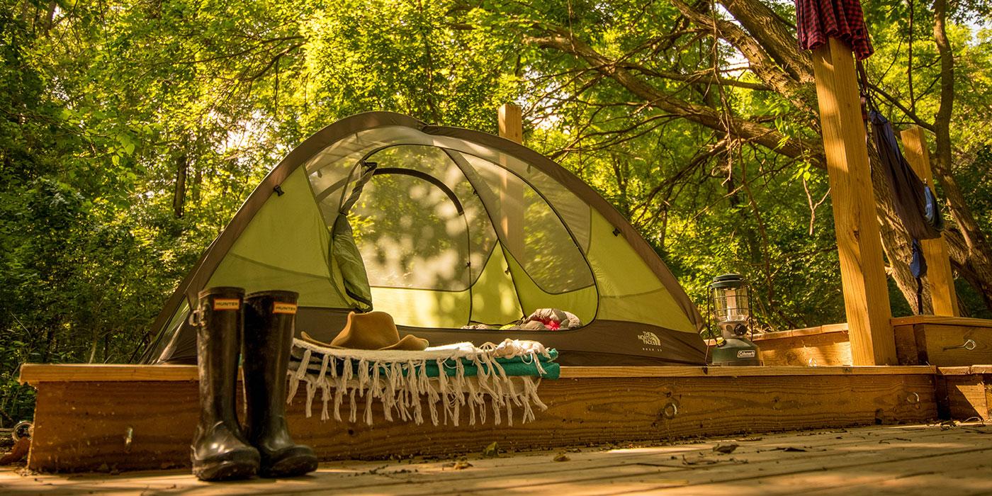 & Granger Island Tent Platforms | Metroparks Toledo