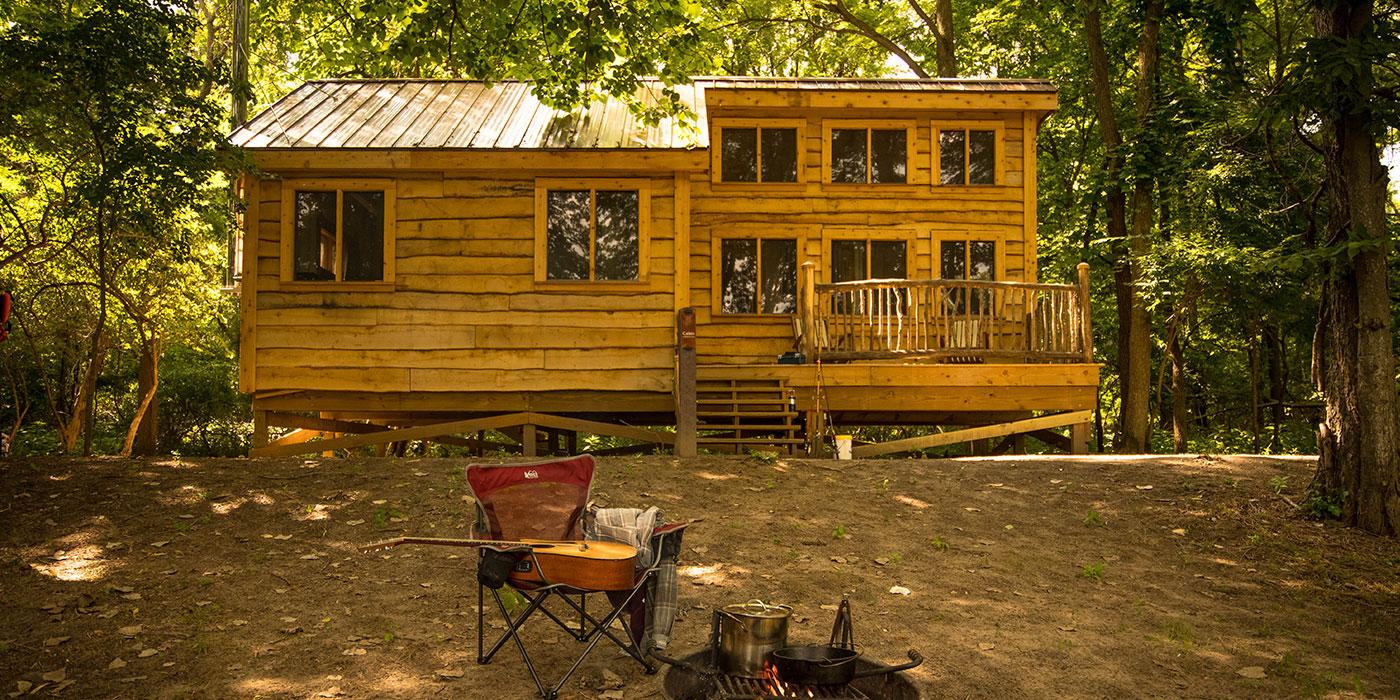 Granger Island Cabin | Metroparks Toledo