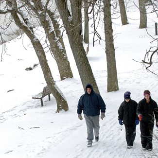 Wintering the Towpath: Riverside Hike and Celebration
