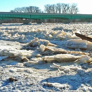 Water's Ways: Flood and Ice