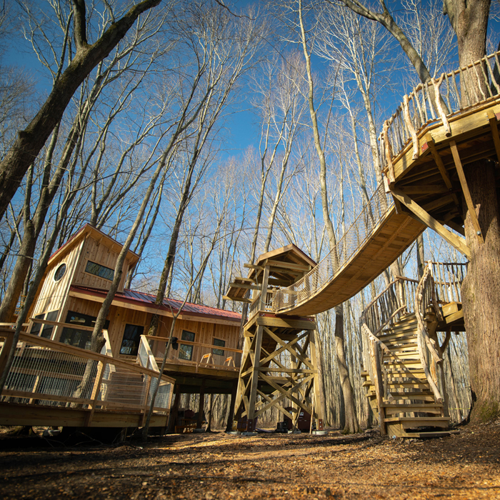 Construction is underway at the Cannaley Treehouse Village.