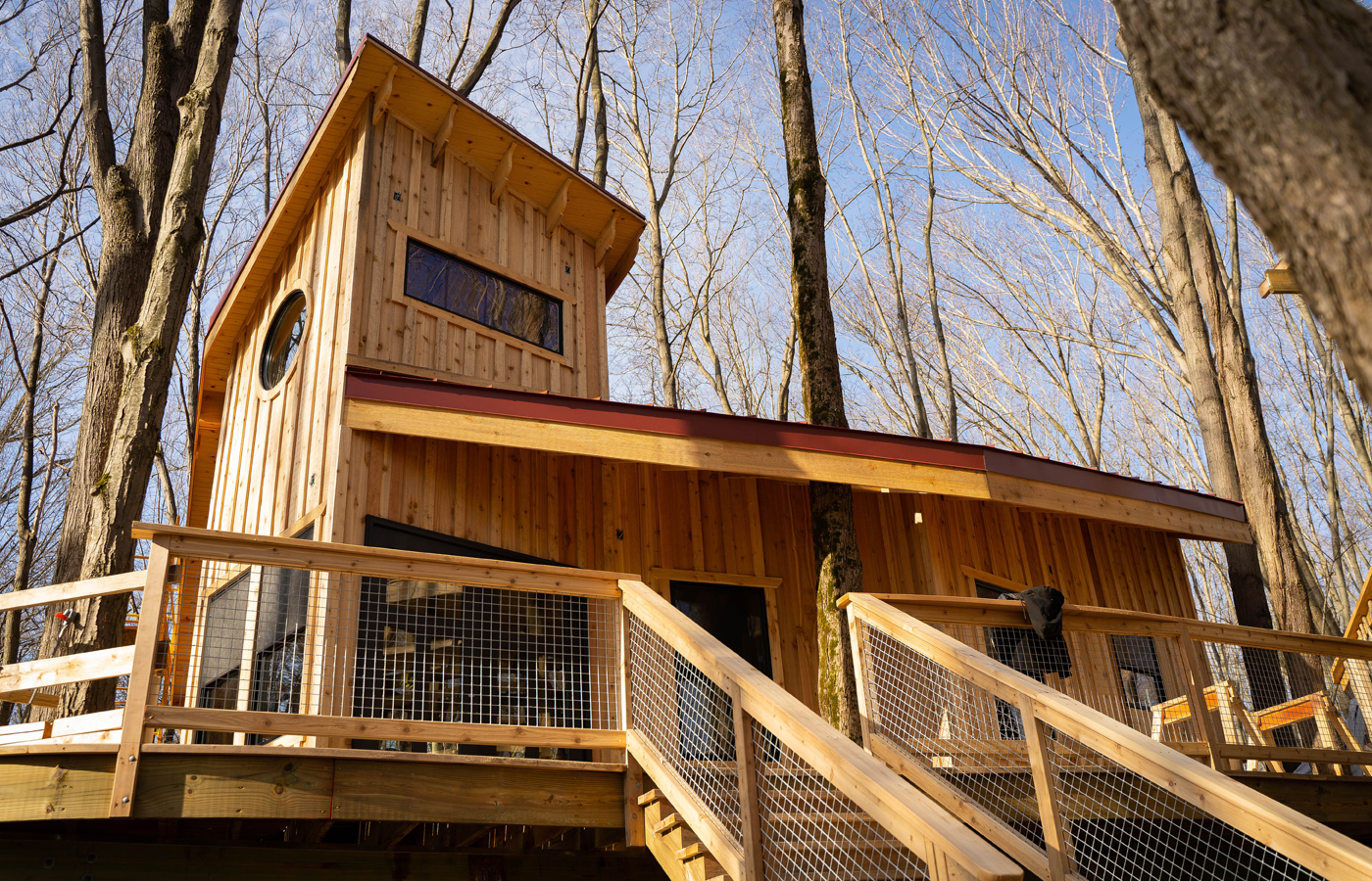 Cannaley Treehouse Village | Metroparks Toledo