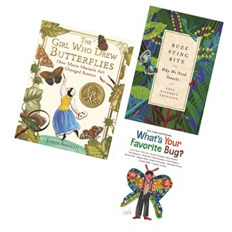Librarian Picks Celebrate Bug Month