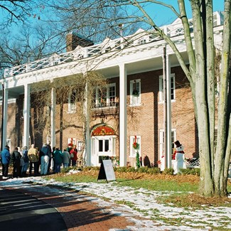 Manor House Voted One of Country's Top Holiday Historic Home Tours
