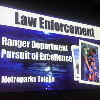Ranger Dept. Honored for Pursuit of Excellence