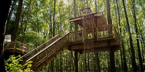 Treehouse Village Hammock Platform - The Drey