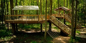 Treehouse Village Tent Platform - The Lair