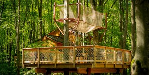 Treehouse Village Tent Platform - The Perch