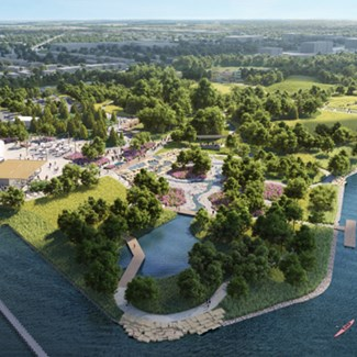 Lead Gift Advances Riverwalk Vision